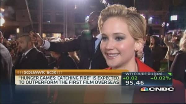 'Hunger Games: Catching Fire' out today