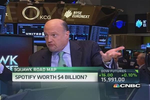 Spotify worth $4 billion?