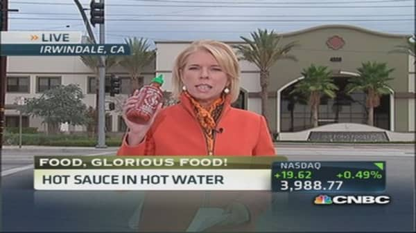 Sriracha factory in hot water