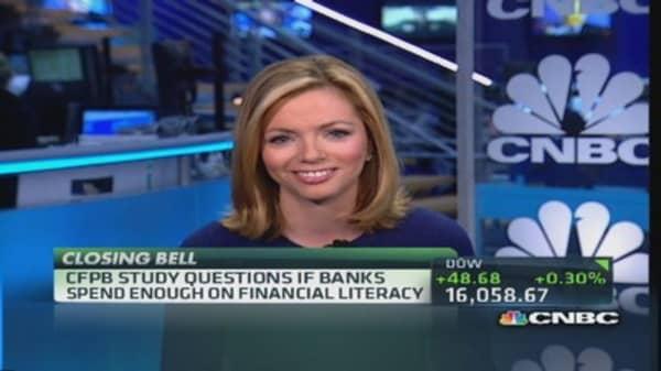 Banks fail at financial literacy
