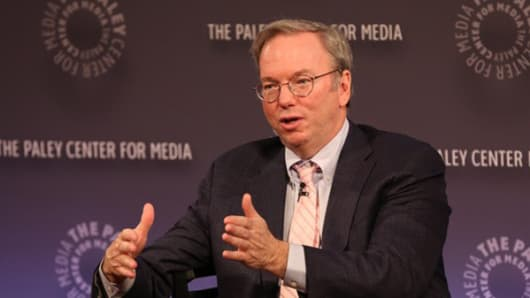 Eric Schmidt of Google at the Paley Center For Media