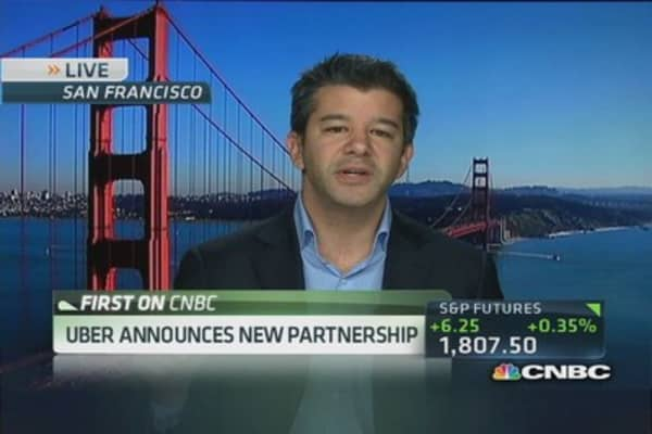Uber's demand 'shooting through the roof': Uber CEO