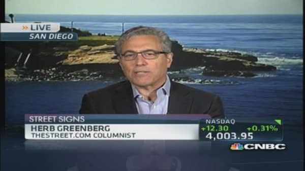 In a market where people don't care: Greenberg