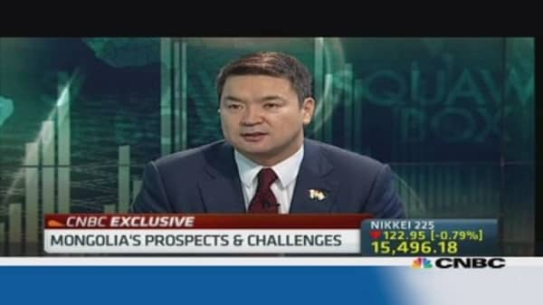 Mongolia hopes to end Rio Tinto dispute by 2014
