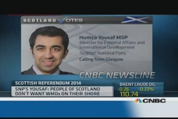 'Serious democratic deficit' in Scotland: Minister