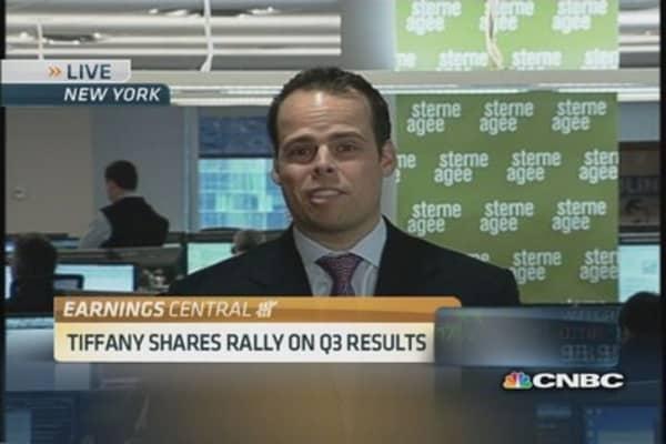 Tiffany raises full-year EPS forecast