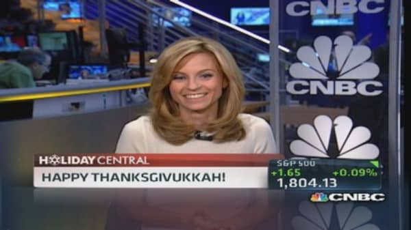Happy Thanksgivukkah!