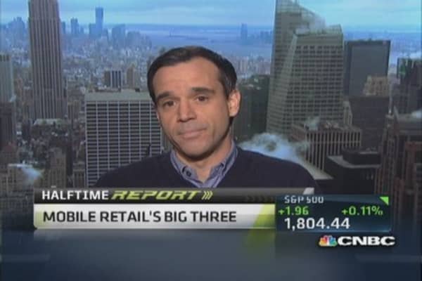 Mobile retail's big 3