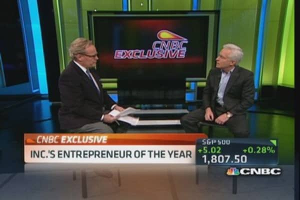 Inc.'s entrepreneur of the year