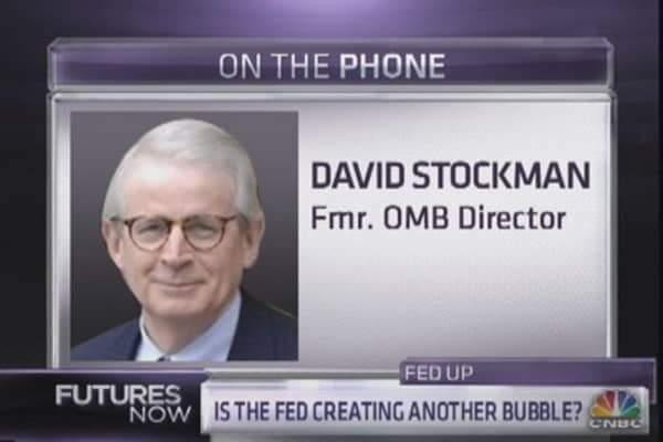 Bubble about to pop: David Stockman