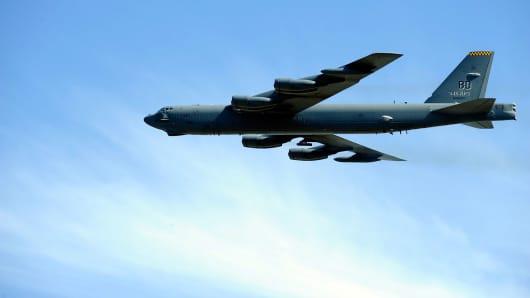 A U.S. B-52 bomber
