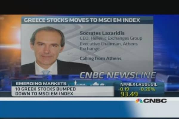 Greek EM stocks: Foreign interest has increased