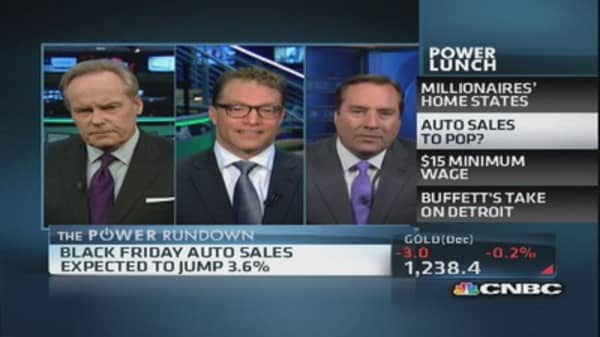 Auto sales to pop?