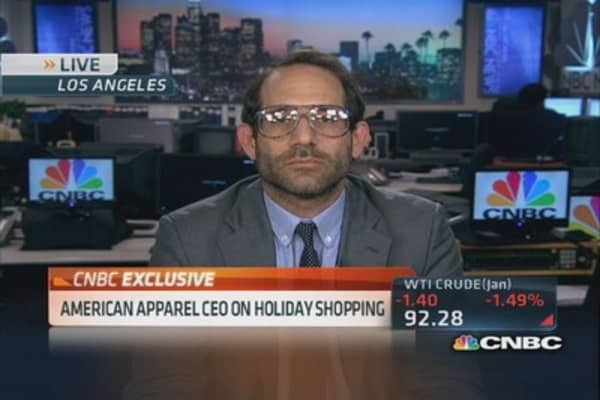 American Apparel CEO: Black Friday critical