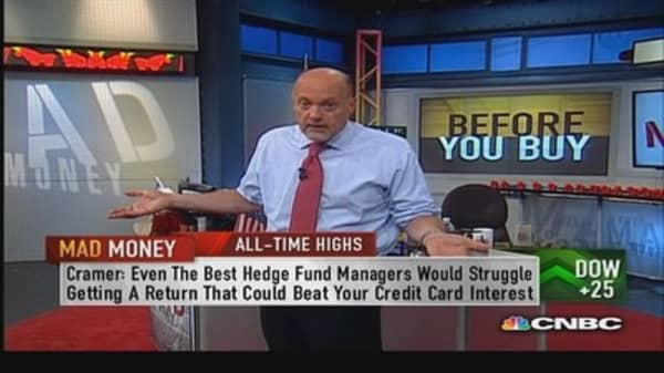 Cramer's most important elements of capital preservation