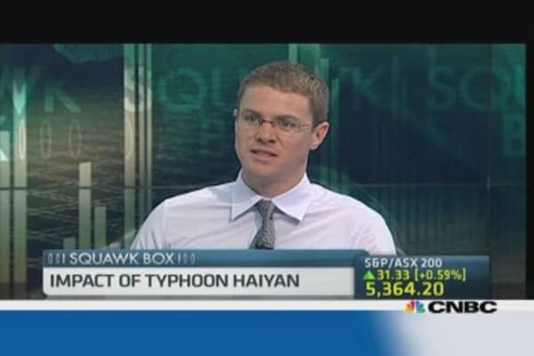 Will Haiyan hurt Philippines Q3 GDP growth?
