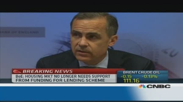 Funding for Lending to focus on SMEs: Carney