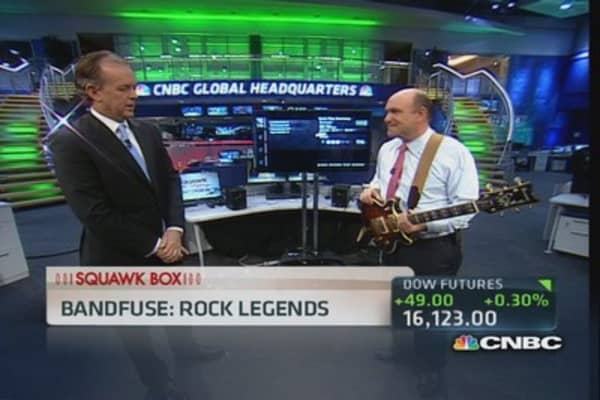 Bandfuse makes 'Rock Legends'