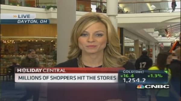 Millions of shoppers hitting stores