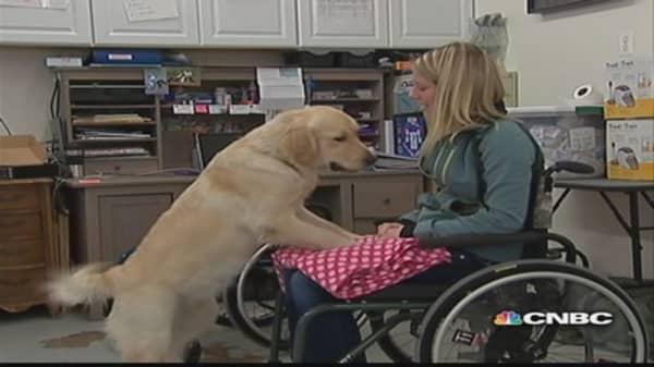 Warrior Canine Connection raises cash through crowd funding