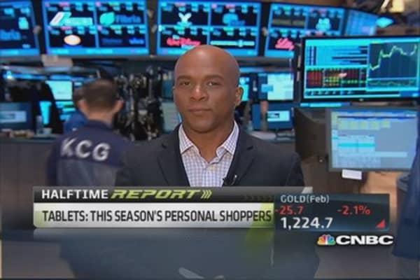 Huge surge in mobile buying platform