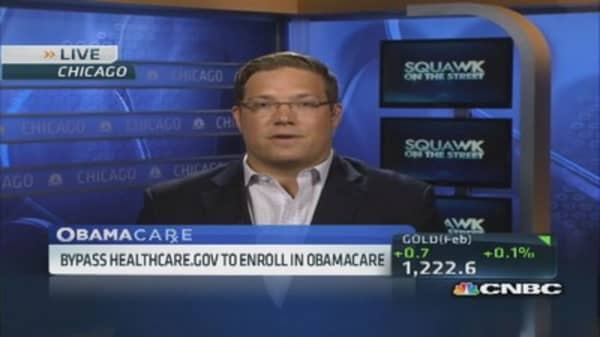 Bypass Heathcare.gov to enroll in Obamacare
