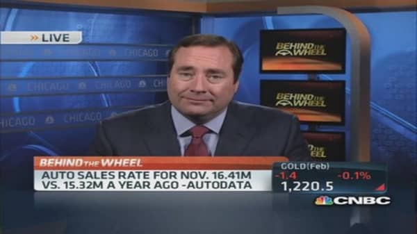 US auto sales jump in November