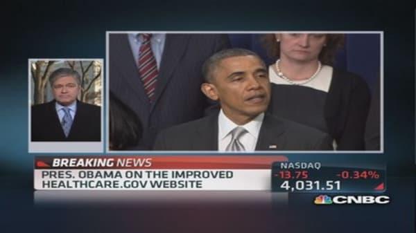 Obama talks health care