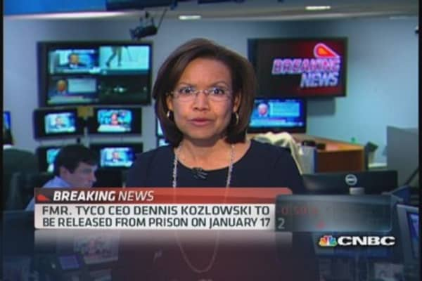Former Tyco CEO to be freed on January 17th