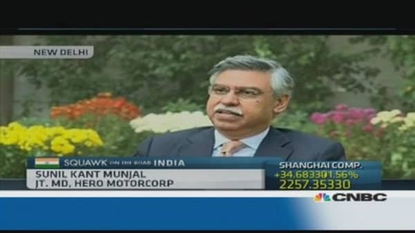 'Frustration' with pace of reform in India: Hero Motocorp