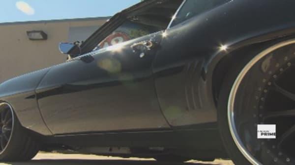 Camaro test drive