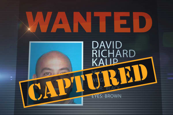 """Shortly after David Kaup was featured on CNBC's """"American Greed: The Fugitives,"""" the FBI received tips that led to his arrest in Las Vegas on Nov. 26."""
