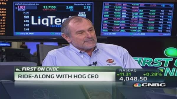 HOG CEO: Strategy is to extend brand