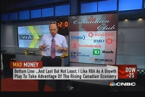 Oh Canada we pick our stocks from thee!