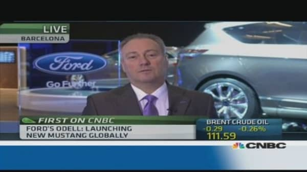 Ford launches revamped Mustang