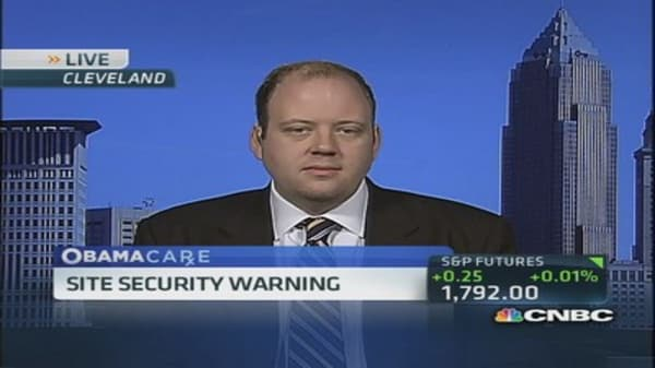 Obamacare website ignites security warnings