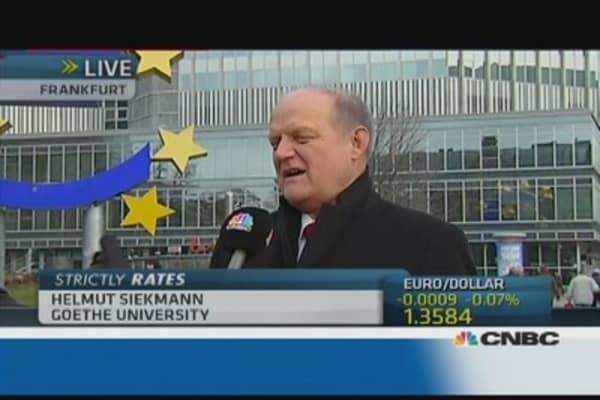 ECB forced to do job of politics: Pro