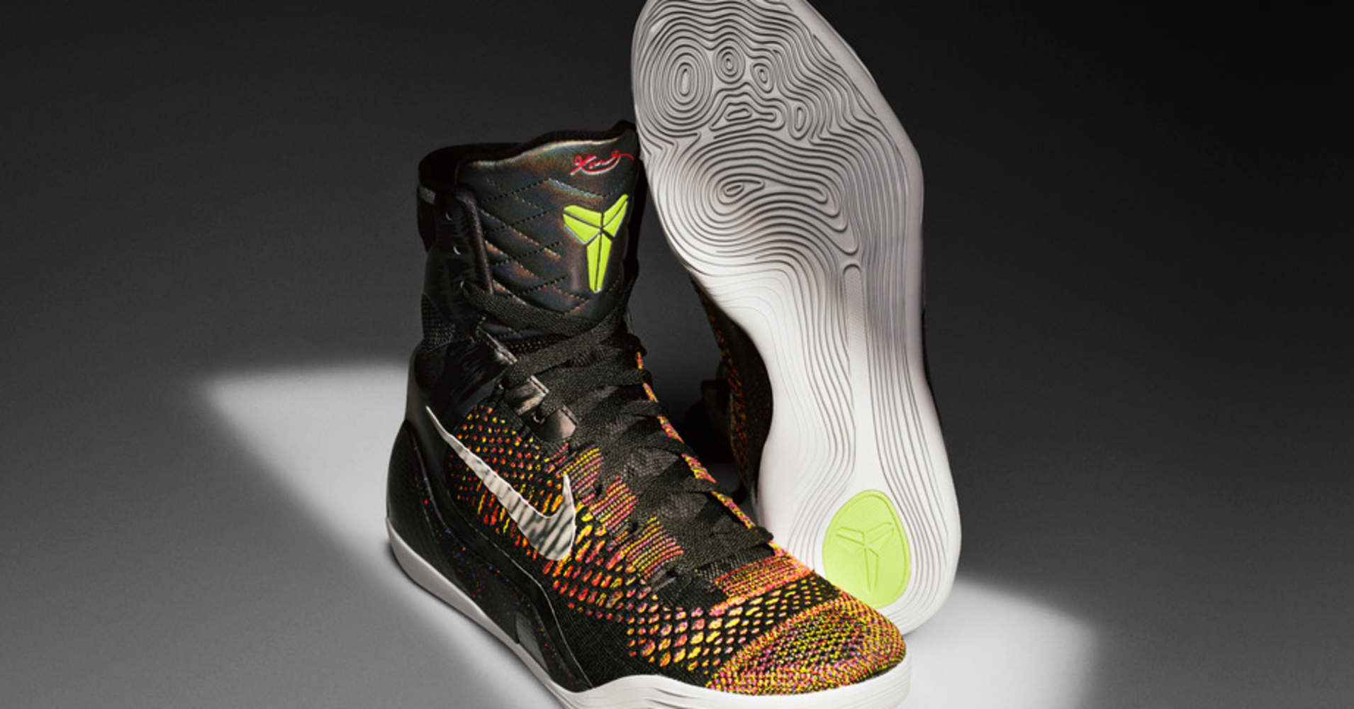 Nike  Kobe 9  basketball shoe introduced by NBA star Kobe Bryant fd9aec4f0
