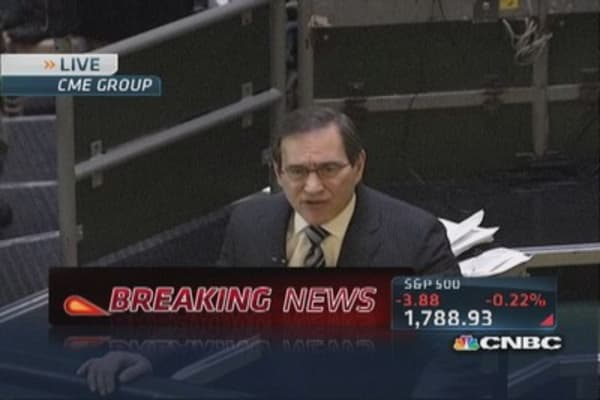 Santelli: October factory orders down