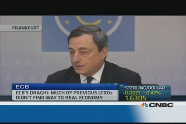 Should the ECB take lessons from the UK?