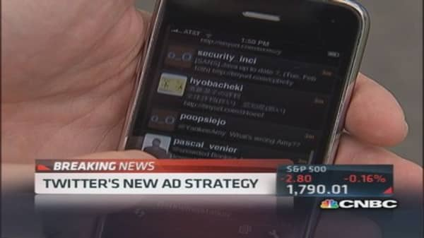 Twitter launches new ad tool