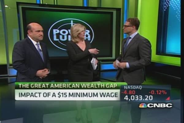 Income inequality & minimum wage