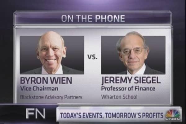 Jeremy Siegel debates Byron Wien