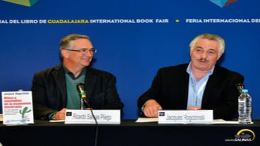 Ricardo Salinas and Jacques Rogozinski