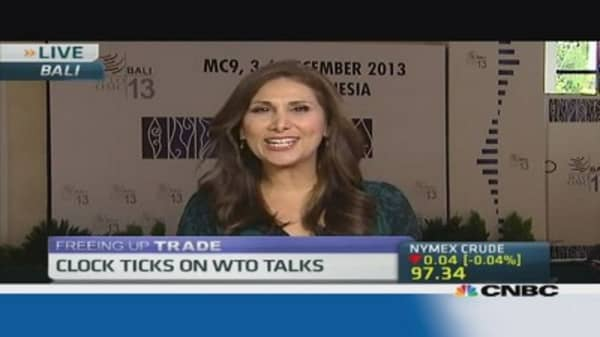 Last minute WTO deal underway: Sources