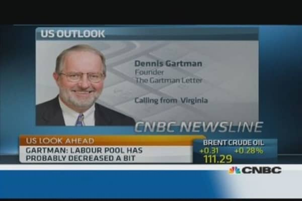 Very few people living on breadline in US: Gartman