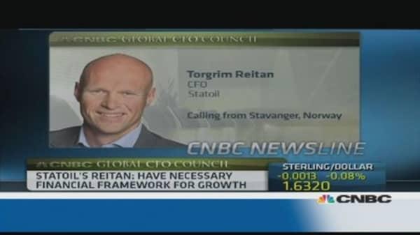 We have 'no concrete plans' for Iran: Statoil CFO