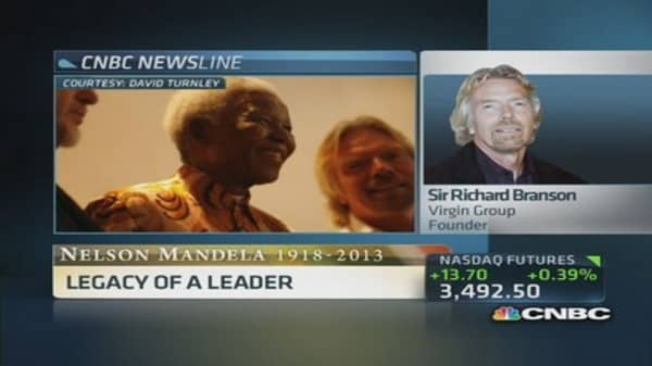 Branson: Remembering Nelson Mandela