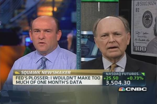 Fed's Plosser sees 3% economy in 2014