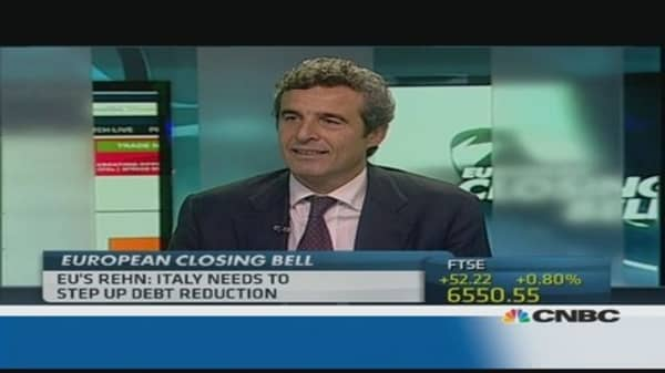 Italy to export its way out of the crisis?